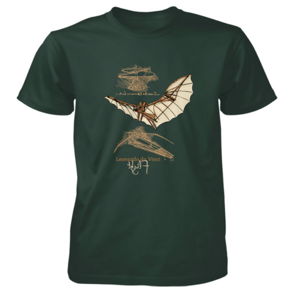da Vinci Flight T-Shirt FOREST