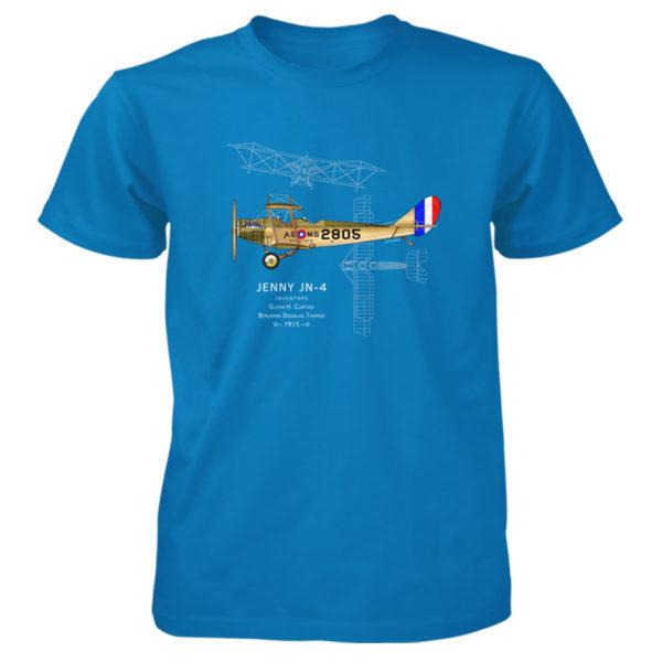 Jenny JN-4 T-Shirt SAPPHIRE