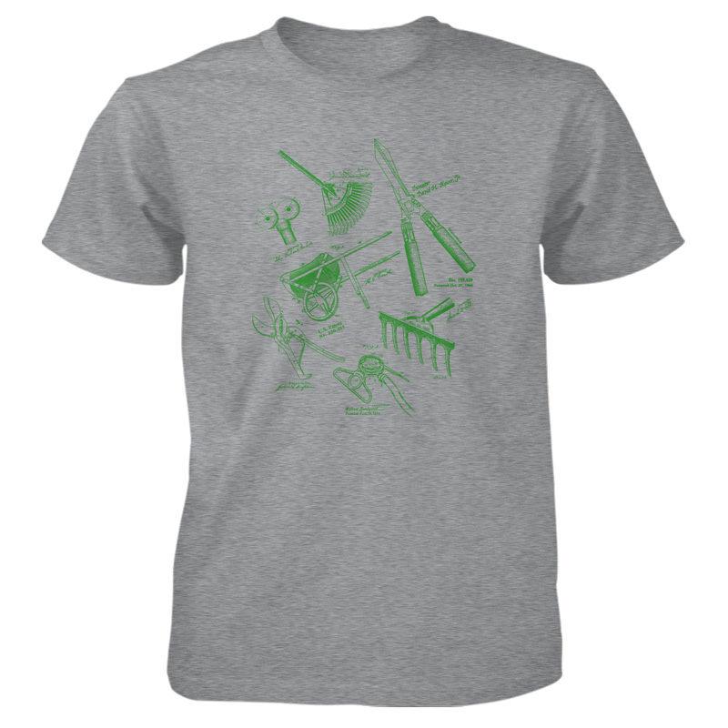 Garden Tools MS Lineart T-Shirt SPORT GREY