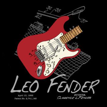 Guitar Solo Design: BLACKS FRONT
