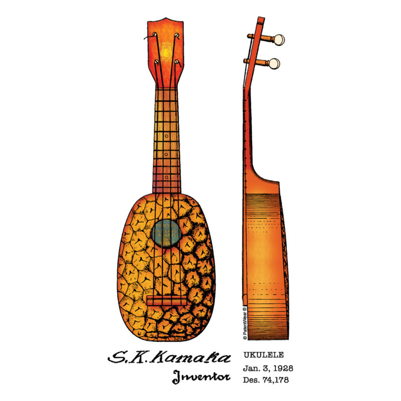 Pineapple Ukulele Design
