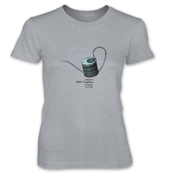 Water Can Women's T-Shirt HEATHER GREY