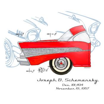 57 Chevy Design: BACKS