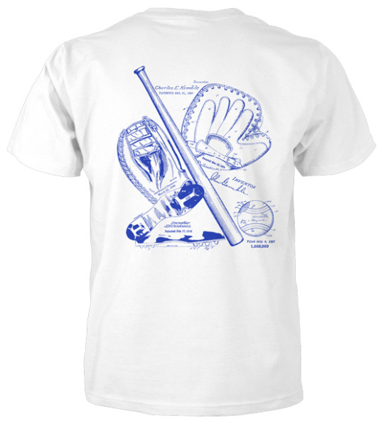 Baseball MS|Lineart T-Shirt