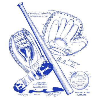 Baseball MS|Lineart Design: BACKS
