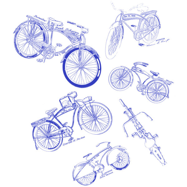 Bicycles MS|Lineart