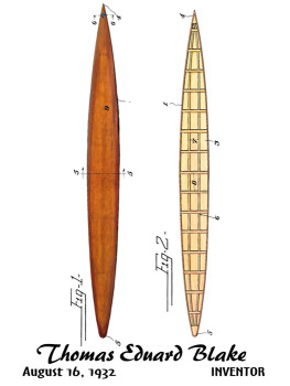 Blake Paddle Board Design: FRONT LEFT CHEST