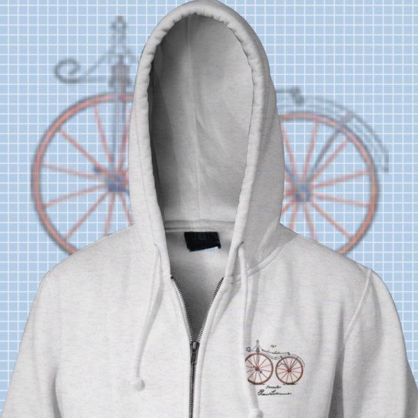 Bicycling Zip Hoodies