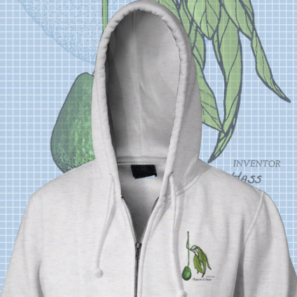 Botanical Zip Hoodies