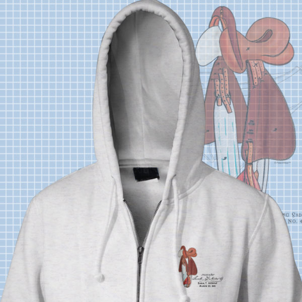 Wild West Zip Hoodies