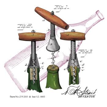 Corkscrew-Strait Design: BACKS