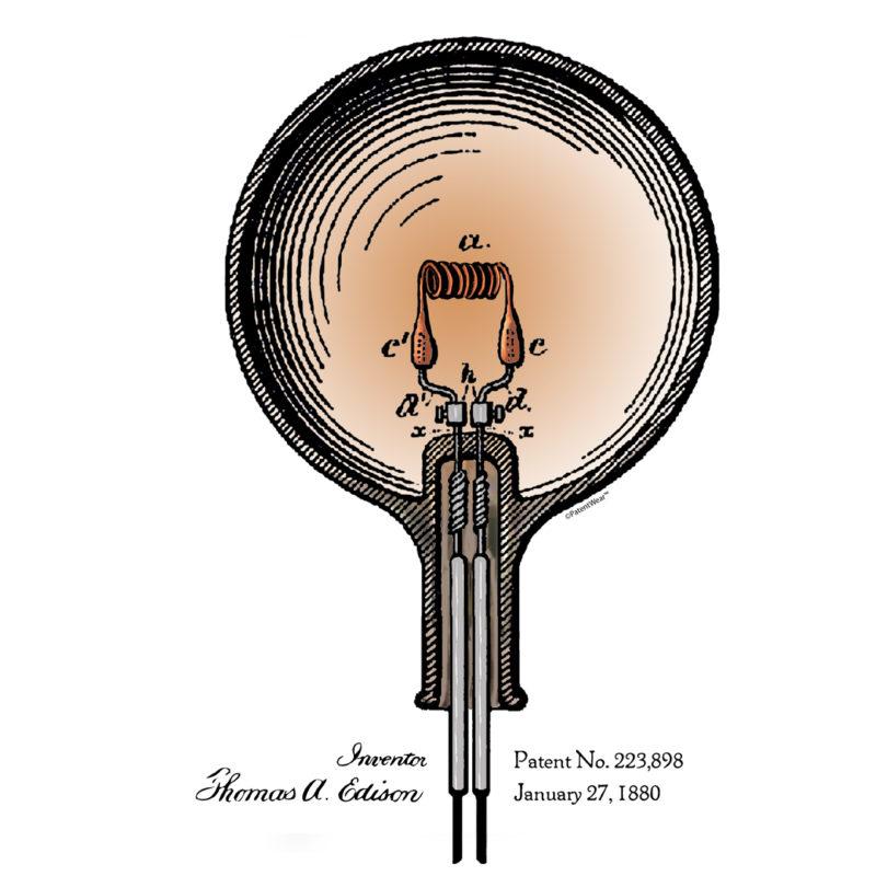 Edison Bulb Patent Design