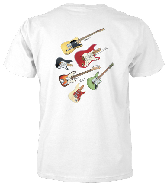 Electric Guitars MS|Color T-Shirt