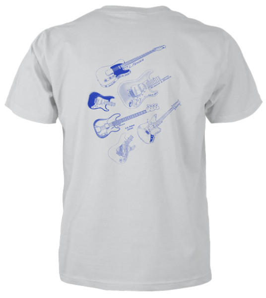 Electric Guitars MS|Lineart T-Shirt