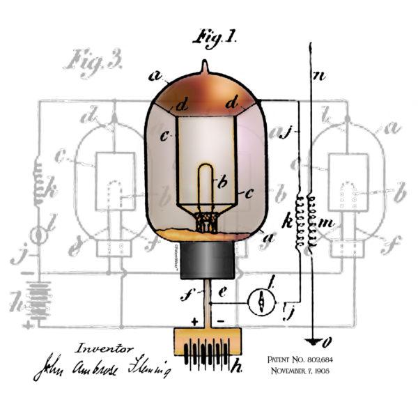 Fleming Vacuum Tube