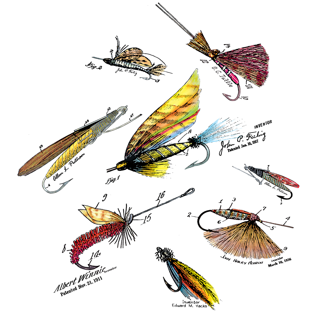 Fly Fishing Flies MS