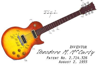 Guitar Sunburst Design: FRONT LEFT CHEST