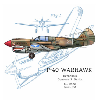P-40 Warhawk Design: BACKS
