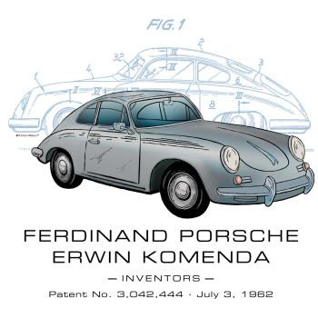 Porsche 356 Design: BACKS