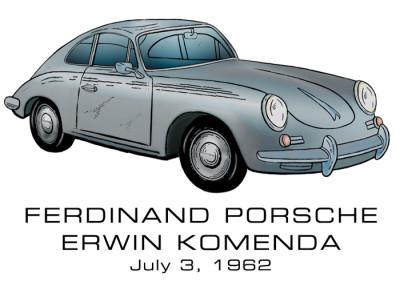 Porsche 356 Design: FRONT LEFT CHEST