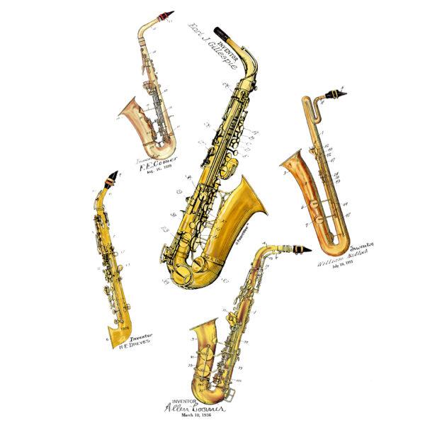 Saxophones MS