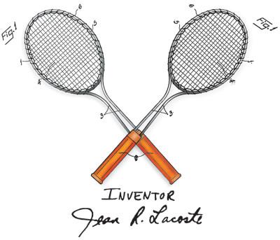 Tennis-Lacoste Design: FRONT LEFT CHEST
