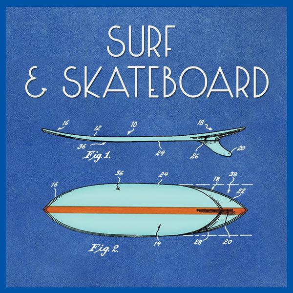 Surf & Skateboard