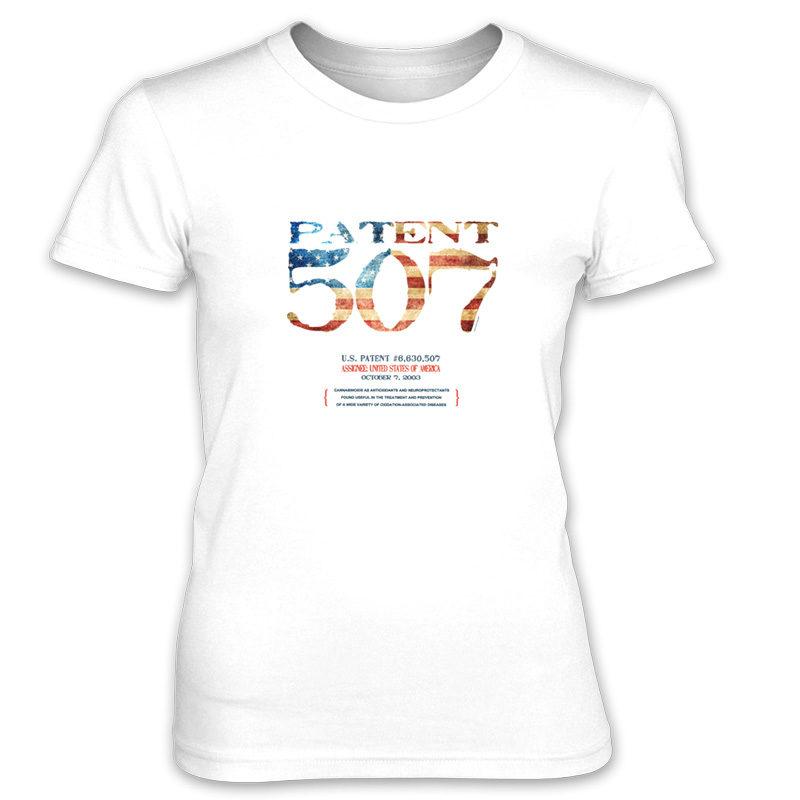Patent 507 Women's T-Shirt WHITE