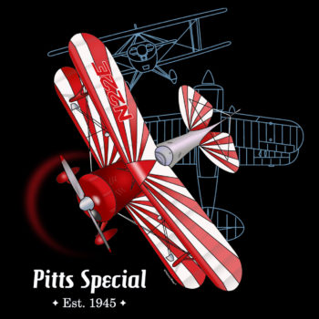 Pitts Special Design: BLACKS FRONT