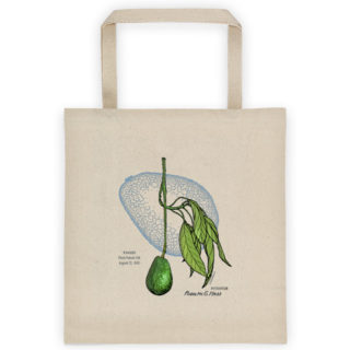 Avocado Patent Tote Bag