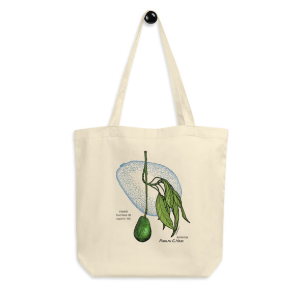 Avocado Tote Bag FRONT