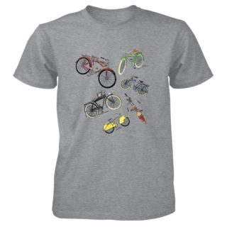 Bicycles MS|Color T-Shirt