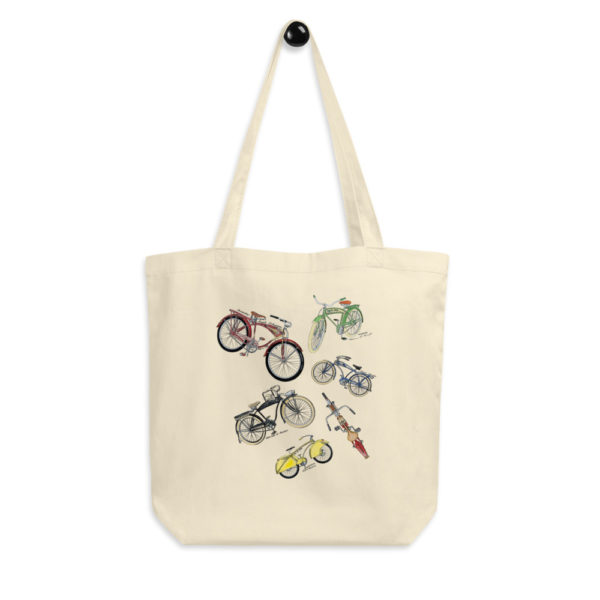Bicycles MS-Color Tote Bag FRONT