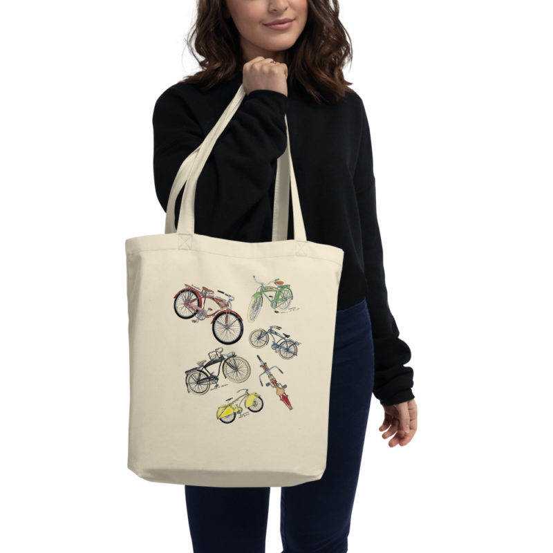 Bicycles MS-Color Tote Bag