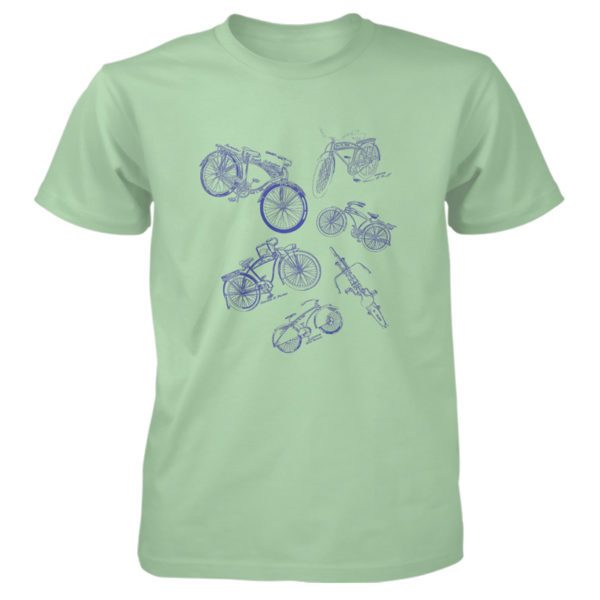 Bicycles MS-Lineart T-Shirt MINT GREEN