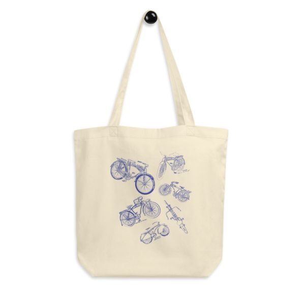 Bicycles MS-Lineart Tote Bag FRONT