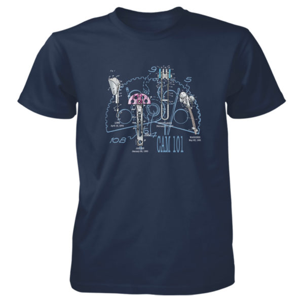 Cam 101 T-Shirt NAVY
