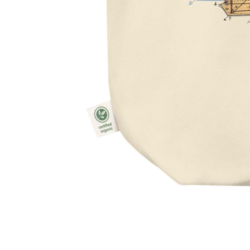 Flying Machine Tote Bag detail