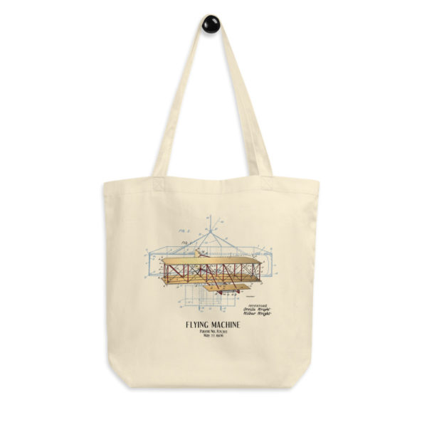 Flying Machine Tote Bag FRONT