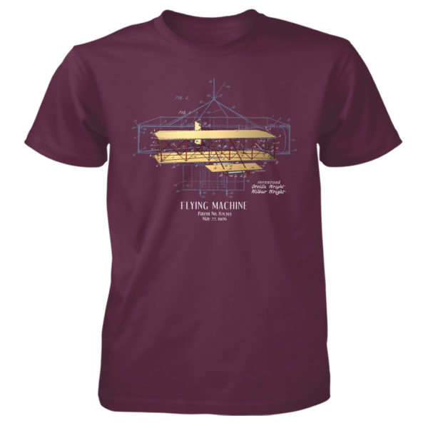 Flying Machine T-Shirt MAROON