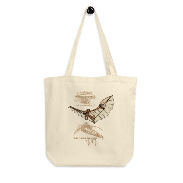 da Vinci Flight Tote Bag hanging