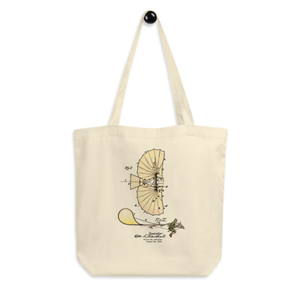 Lilienthal Glider Tote Bag FRONT