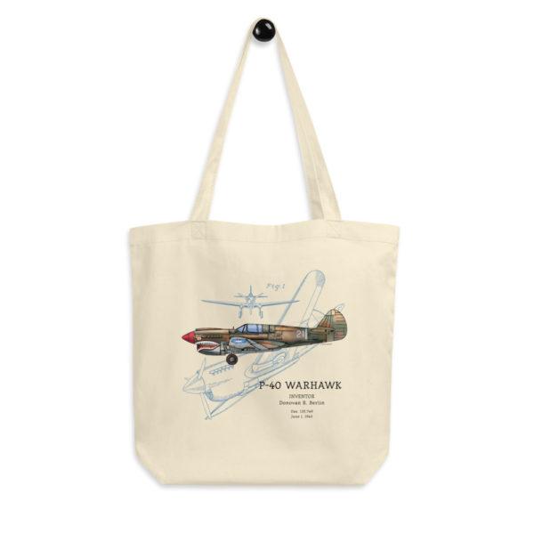 P-40 Warhawk Tote Bag FRONT