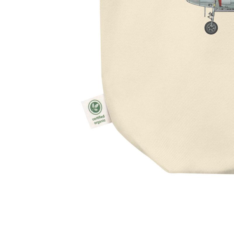 P-38 Lightning Tote Bag detail