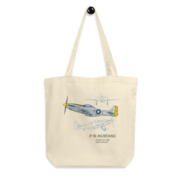 P-51 Mustang Tote Bag FRONT