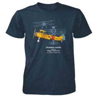 Stearman Kaydet Patent T-Shirt