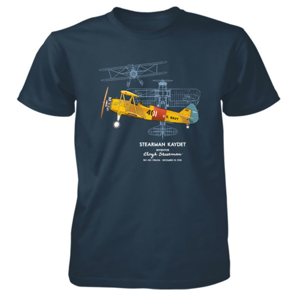 Stearman Kaydet T-Shirt BLUE DUSK