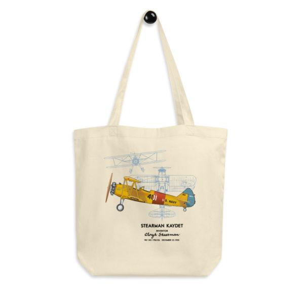 Stearman Kaydet Tote Bag FRONT