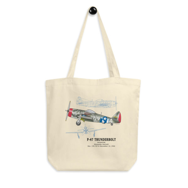 P-47 Thunderbolt Tote Bag FRONT