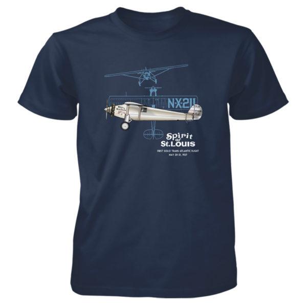 Spirit of St Louis T-Shirt NAVY